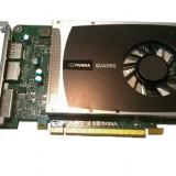Placa Video nVidia Quadro 2000,1 Gb/ 128 bit, PCI-express,DVI, 2x Display Port