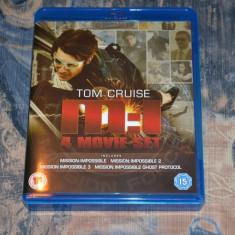 Film - Mission Impossible Quadrilogy [4 Filme - 4 Discuri Blu-Ray], Import UK - Film actiune paramount, Engleza