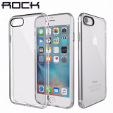 Husa super slim ROCK Iphone7 - Husa Telefon Apple, Transparent, Silicon