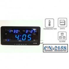 Ceas digital cu display si termometru CX2158