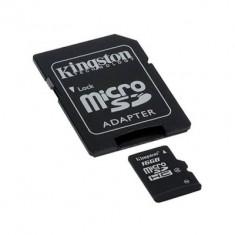 Card memorie Kingston microSD cu adaptor 16GB