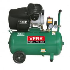 Compresor de aer Verk putere 3CP capacitate 50L - Compresor electric