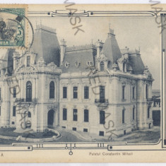 3136 - CRAIOVA, Constantin Mihail Palace - old postcard - used - TCV - 1906 - Carte Postala Oltenia 1904-1918, Circulata, Printata