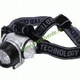 Lanterna frontala cu 8 LED-uri
