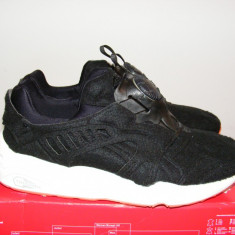 Adidasi Puma Disc Blaze Bright (Black) 359361-02 nr. 42 - Adidasi barbati Puma, Culoare: Negru, Textil