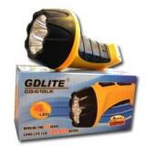 Lanterna cu 4 led-uri reincarcabila GD-610LX