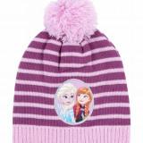 Caciula din tricot Disney Frozen lila