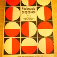 MCCB - PEDAGOGIE PRESCOLARA - MANUAL - ED 1976 - Curs dezvoltare personala