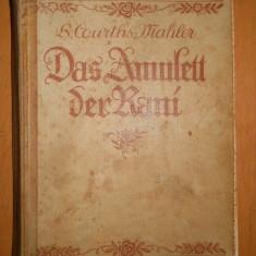 DAS AMULETT DER RANI - H.COURTHS -MAHLER - CARTE IN LIMBA GERMANA - Carte in germana