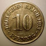 B.308 GERMANIA 10 PFENNIG 1913 D, Europa, Cupru-Nichel