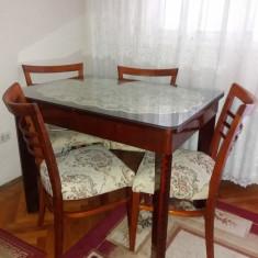 Masa cu 4 scaune - Masa living