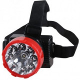 Lanterna frontala 9 led-uri 1W cu acumulator SL698
