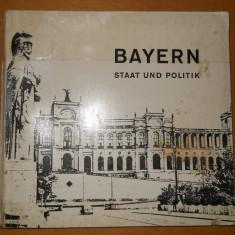 BAYERN STAAT UND POLITIK - 1964 - CARTE IN LIMBA GERMANA - Carte in germana