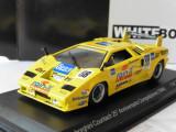 Macheta Lamborghini Countach XXV Anniversario - 1994 WHITE BOX  scara 1:43