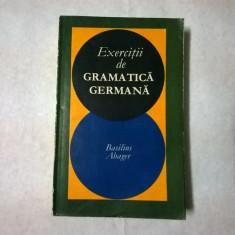 Basilius Abager – Exercitii de gramatica germana