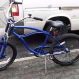 Vand bicicleta de oras echipata cu frana pe disc fata