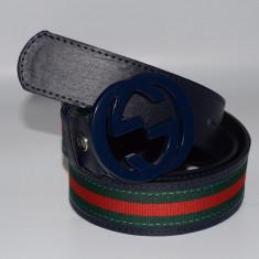 Curea Gucci Piele Ecologica DIverse Culori - Curea Barbati, Marime: Marime universala, Culoare: Din imagine