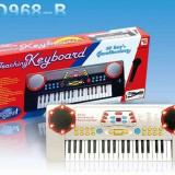 Orga de copii Teaching SD968-B cu 37 de clape si microfon