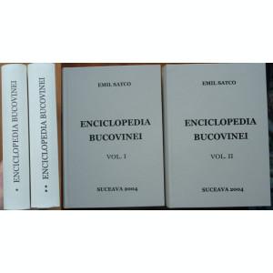 Emil Satco , Enciclopedia Bucovinei , Suceava , 2004 , 2 volume
