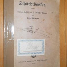 Schärhibesker, Lastich Geschichten ä Saksesche Reimen - OTTO BIRINGER -1921 - Carte in germana