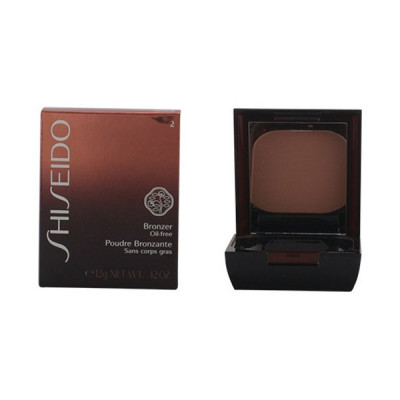 Shiseido - BRONZER oil-free powder 02 medium naturel 12 gr foto