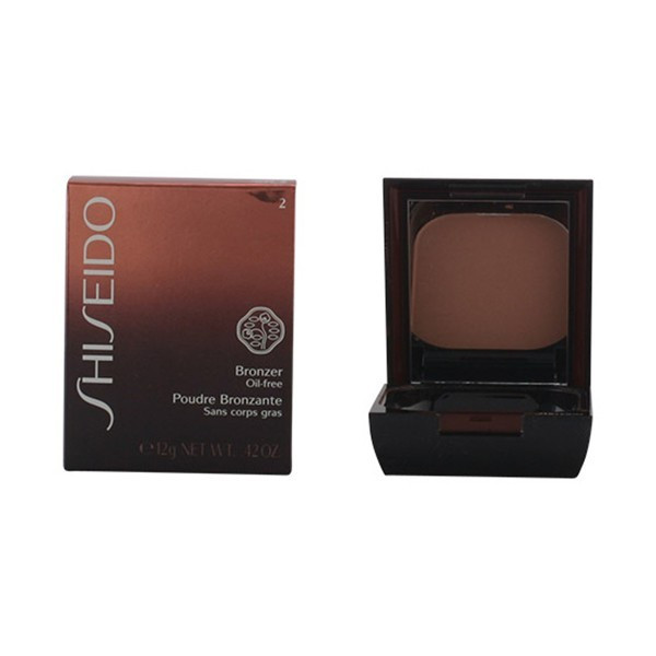 Shiseido - BRONZER oil-free powder 02 medium naturel 12 gr foto mare