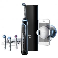 Periuta de dinti electrica Oral-B Genius 9000, SmartRing, 6 programe, Negru Braun