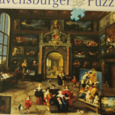 Ravensburger PUZZLE 2000 piese, size ca. 98 x 75 cm, No. 166367 Made in Germany, Carton, 2D (plan)