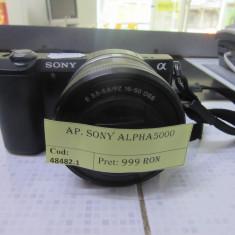 Aparat foto sony alpha5000(lct) - Aparat Foto Mirrorless Sony