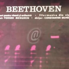 Beethoven - Concert pentru vioara si orchestra in Re major, OP. 61 (Vinil) - Muzica Opera