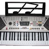 Orga electronica MQ-001 UF cu 61 clape cu USB si radioFM