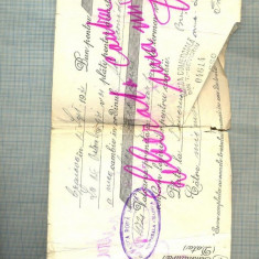 A2309 CAMBIE 10000 LEI - 1931 -CRAIOVA -STAREA CARE SE VEDE +CHITANTA ATASATA - Cambie si Cec