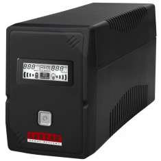 LESTAR UPS V-855f 850VA/480W AVR LCD GF 2xFRENCH USB RJ 11