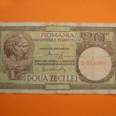 20 LEI 1948-4950 - Bancnota romaneasca, An: 1950