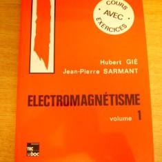 MCCB - ELECTRMAGNETISME - VOL I SI II - IN LIMBA FRANCEZA - ED 1993 - Carte Psihiatrie