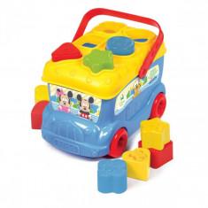 Autobuz de sortat forme Mickey Mouse Clementoni