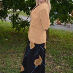 Costum elegant de dama, masura mare, format din trei piese - Costum dama