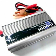 Invertor auto TBE, 1000W - Invertor curent