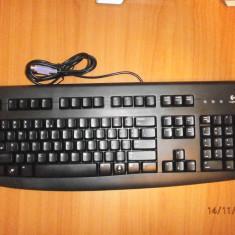 Tastatura Logitech Deluxe 250 PS/2 BLACK, Standard, Cu fir