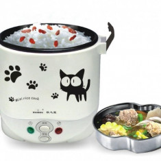 Vas pentru gatit orez 12V Mini Rice Cooker - Aparat Gatit Aburi