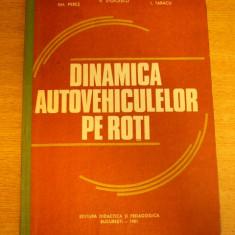 MCCB - DINAMICA AUTOVEHICULELOR PE ROTI - 1981 - Carti auto