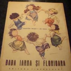 Hrubin/Trnka - Baba Iarna si Florioara -1965 -ilustratii color - Carte de povesti