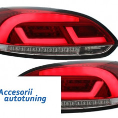 Stopuri Litec LED VW Scirocco III 08-10 rosu / clar - Stopuri tuning