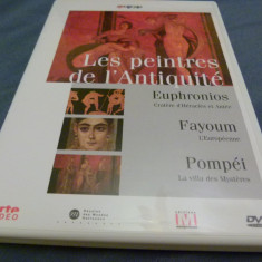 Les peintres de L'Antiquite - Film documentare Altele, DVD, Engleza