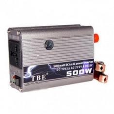 Invertor TBE Auto 500W - Invertor curent