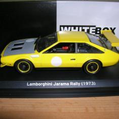 Macheta Lamborghini Jarama Rally - 1973 - WHITE BOX scara 1:43 - Macheta auto