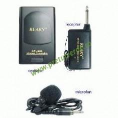 Microfon wireless lavaliera