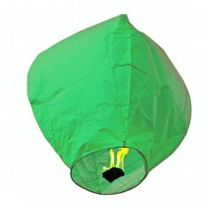 Lampioane zburatoare sky lanterns diferite culori - Verde