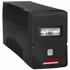 LESTAR UPS V-655s 600VA/360W AVR LCD GF 2xSCH USB RJ 11