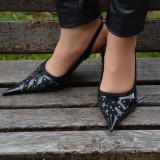 Sandale elegante, de culoare rosie - Sandale dama